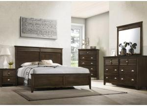 Liam Brown 5-Piece Bedroom Set
