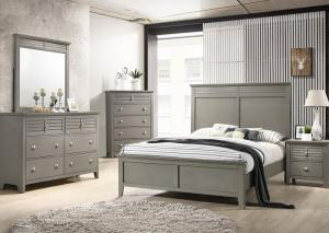 Liam Grey 5-Piece Bedroom Set